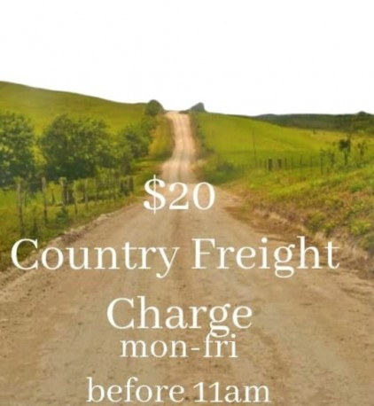 $20 Country Freight
